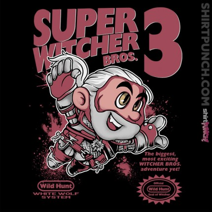 ShirtPunch: Super Witcher Bros 3