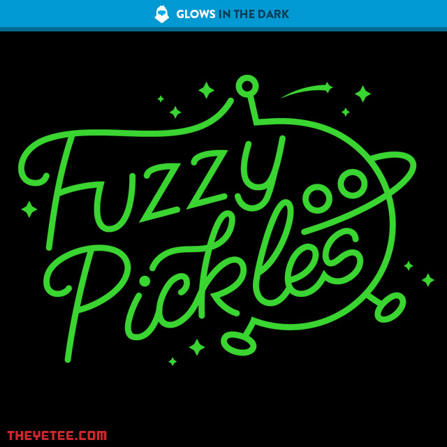 The Yetee: Fuzzy Pickles