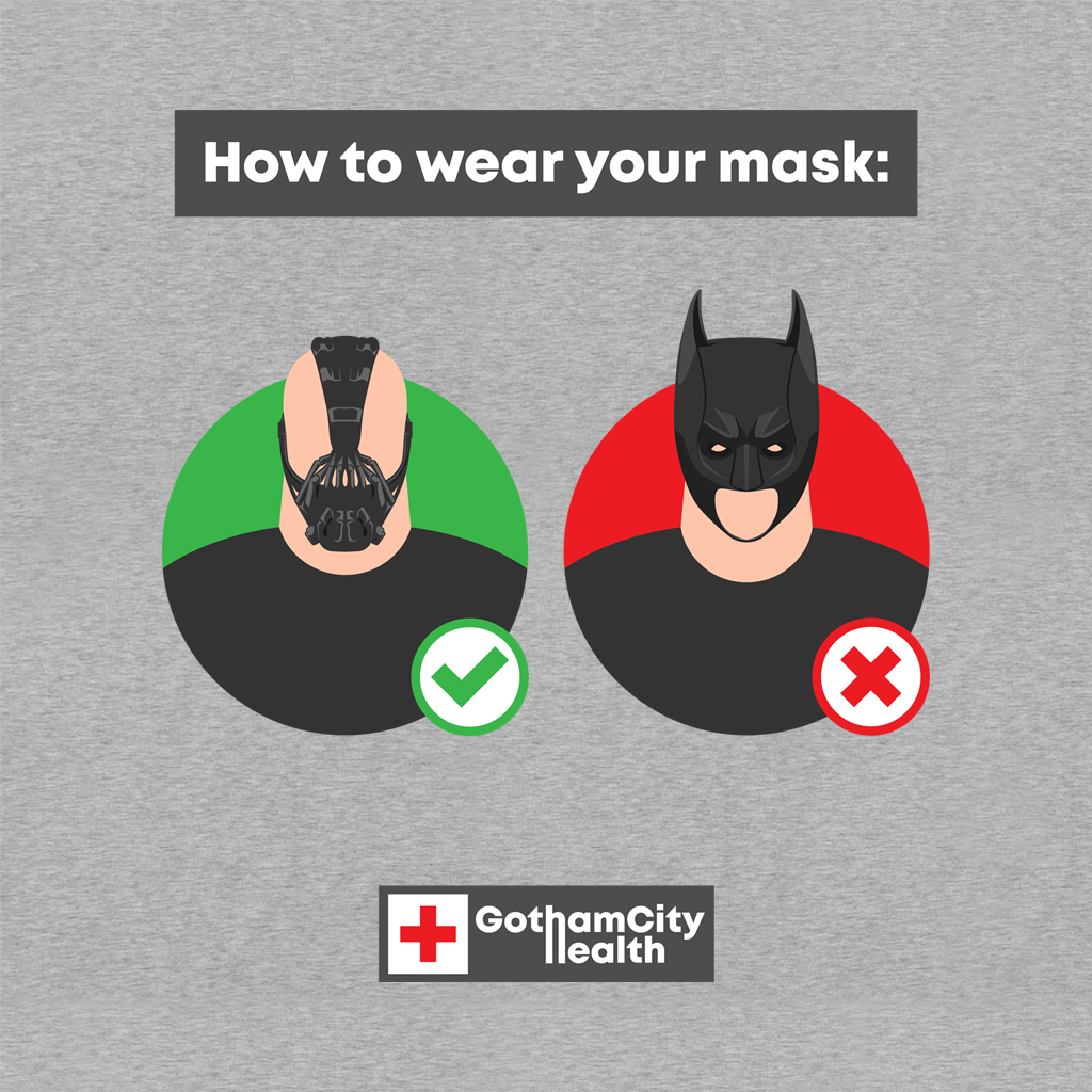 TeeTee: How to wear your mask