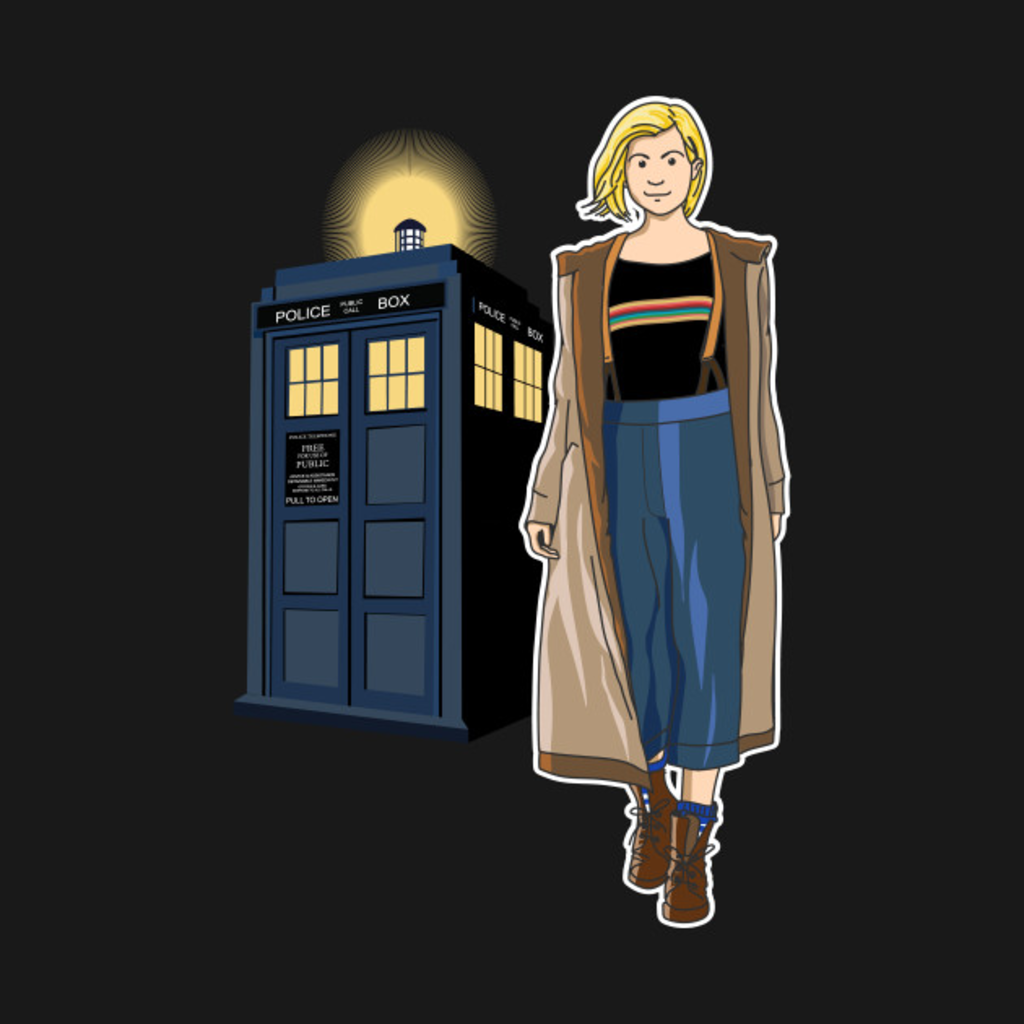 TeePublic: THE DOCTOR IS IN!