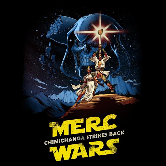 Once Upon a Tee: Merc Wars