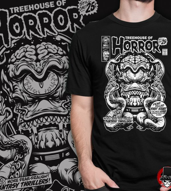 teeVillain: Treehouse of Horror
