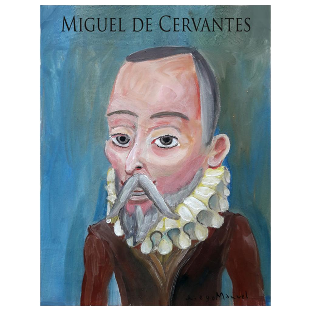 NeatoShop: Miguel de Cervantes portrait
