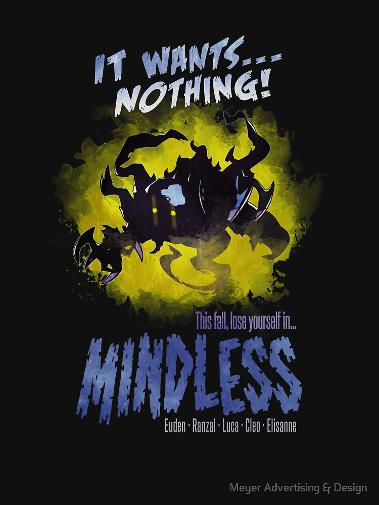 RedBubble: Mindless - Dragalia Lost Scary Horror Poster