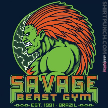 ShirtPunch: Savage Beast Gym