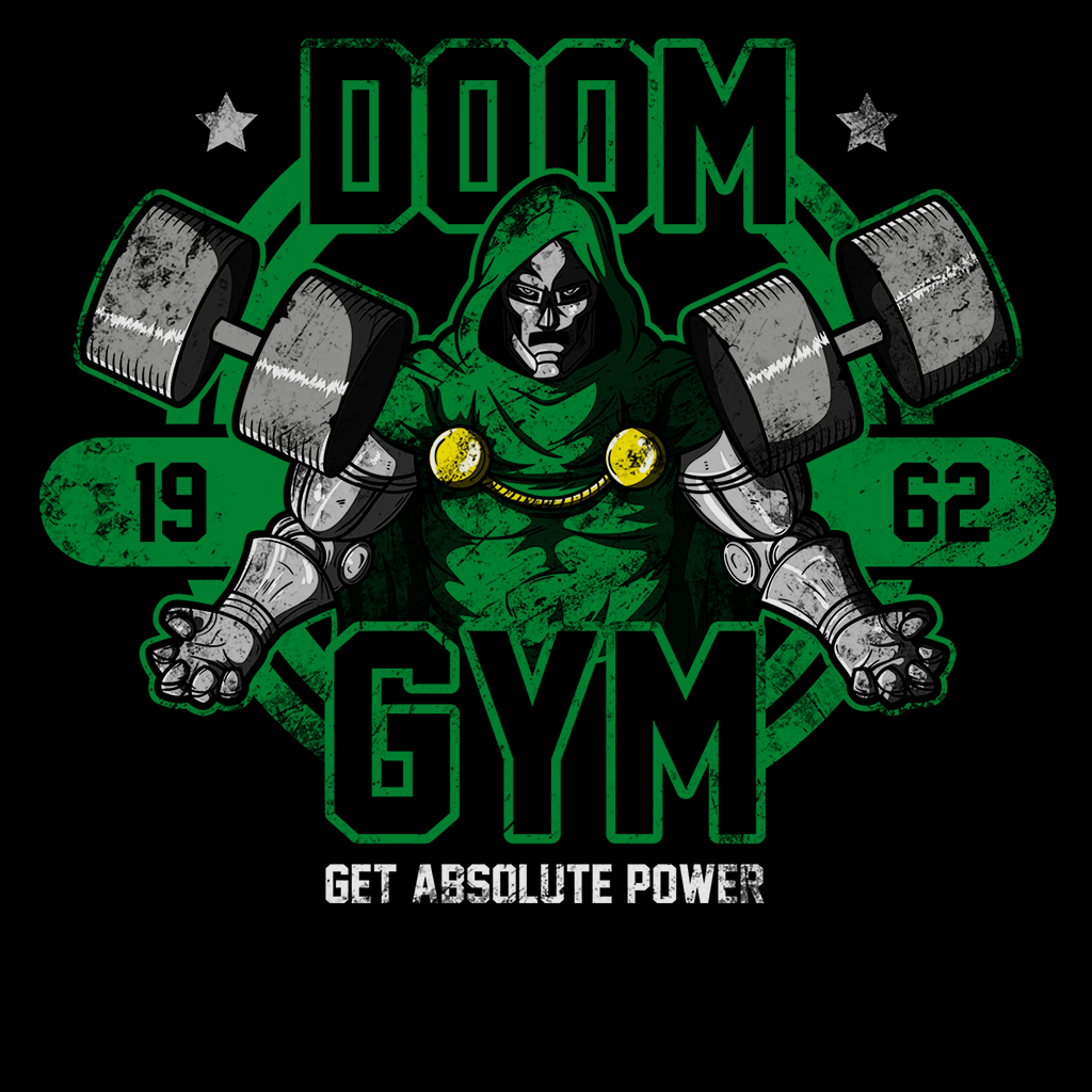 Pop-Up Tee: Doom Gym