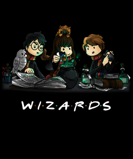 Qwertee: WIZARDS