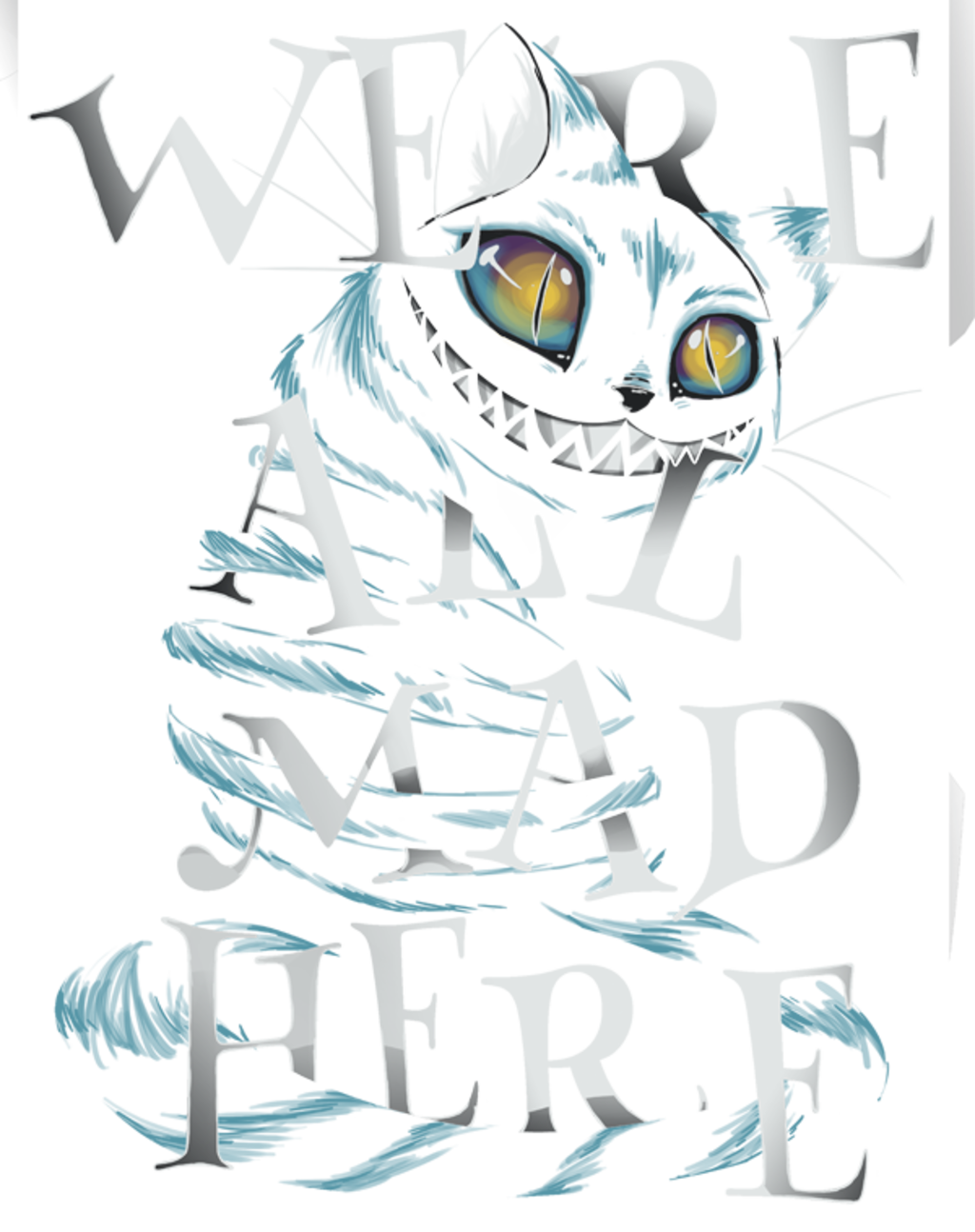 teeVillain: Mad Cat