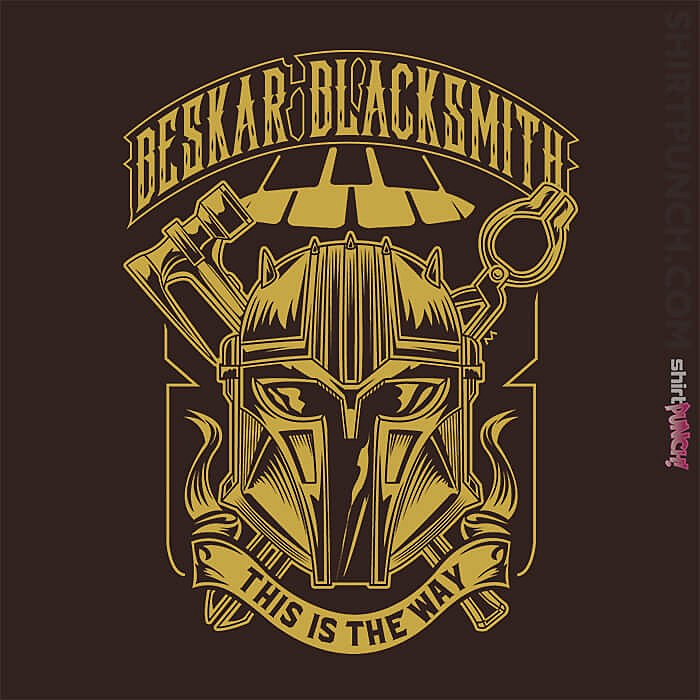 ShirtPunch: Beskar Blacksmith