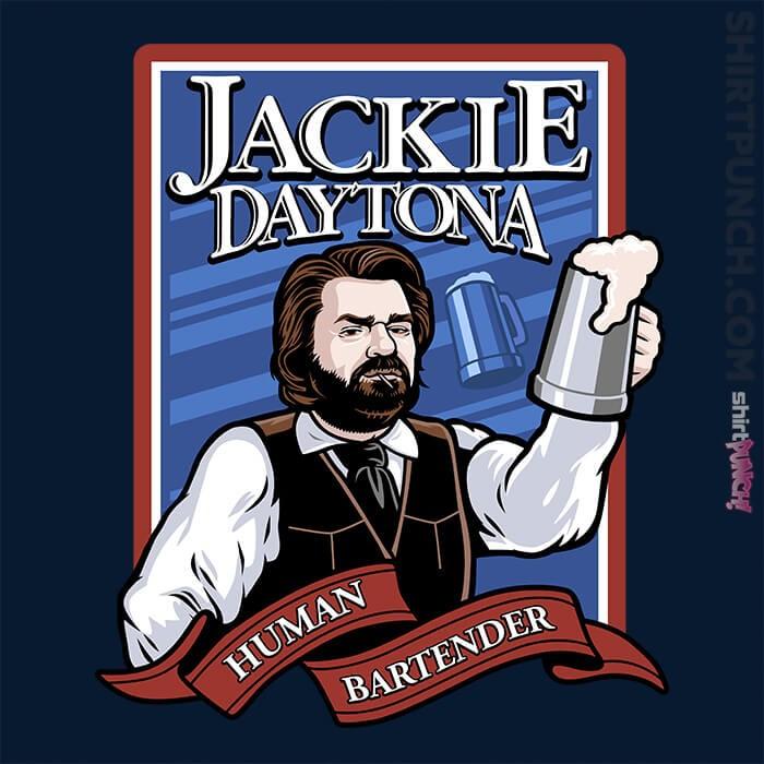 ShirtPunch: Jackie Daytona - Regular Human Bartender