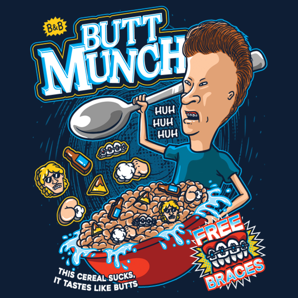 NeatoShop: Butt Munch Cereal