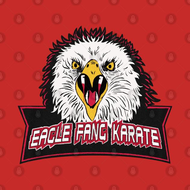 TeePublic: Eagle Fang Karate Logo Vintage