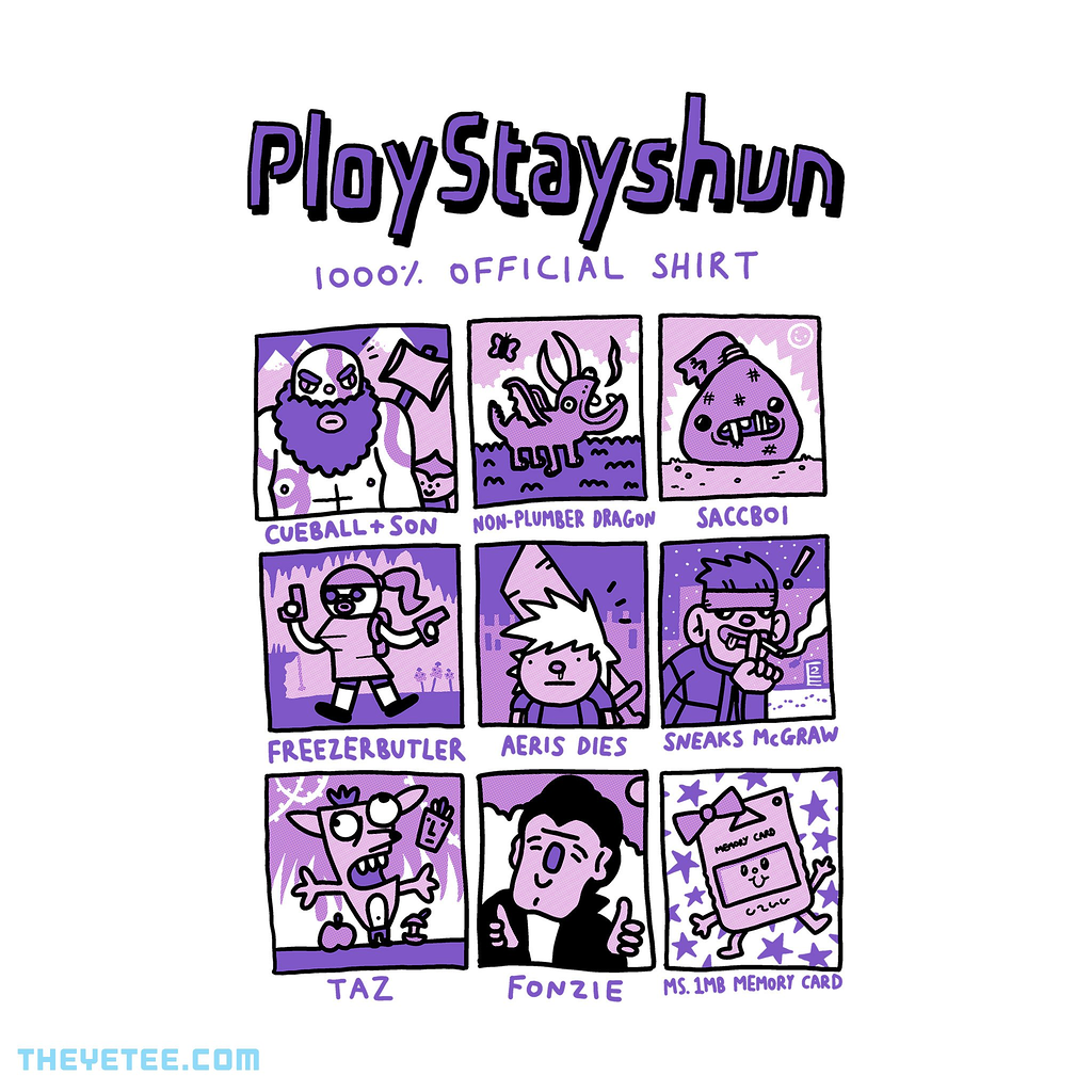 The Yetee: Ploystayshun 1000% Official Shirt