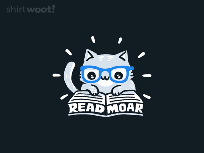 Woot!: Read Moar - $15.00 + Free shipping