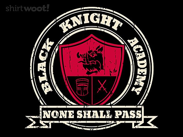 Woot!: Black Knight Academy