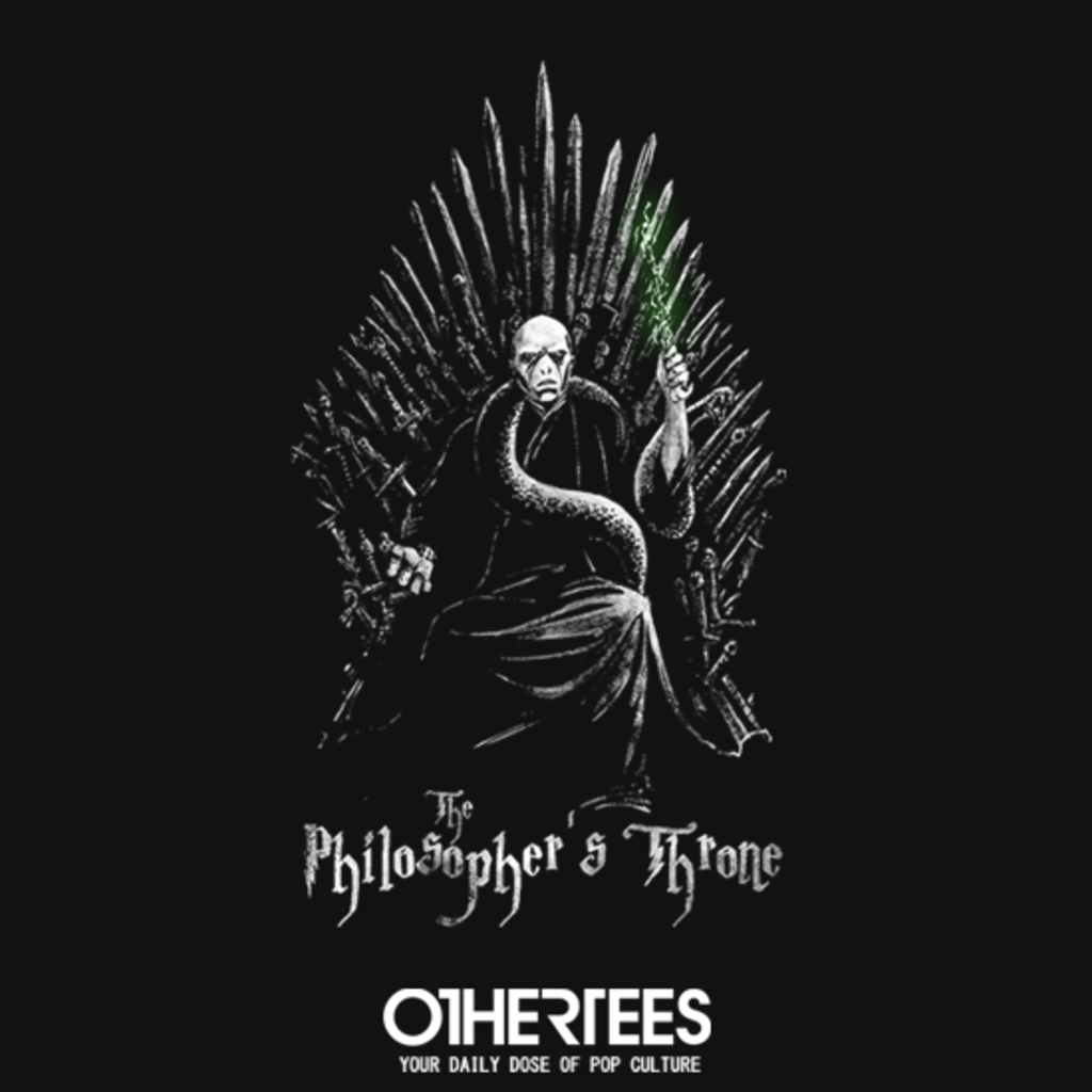 OtherTees: The Philosopher's Throne