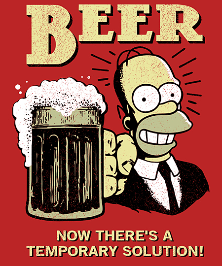Qwertee: Beer Answer