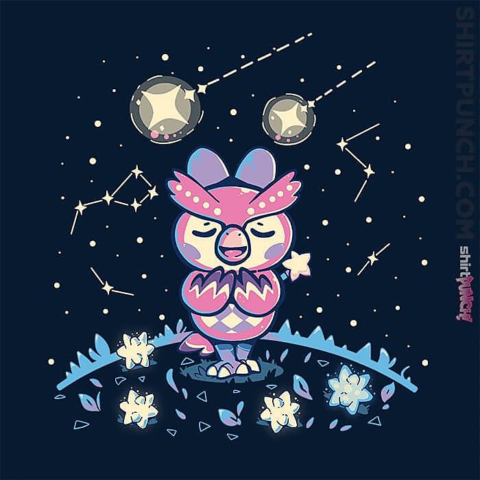 ShirtPunch: Starry Owl