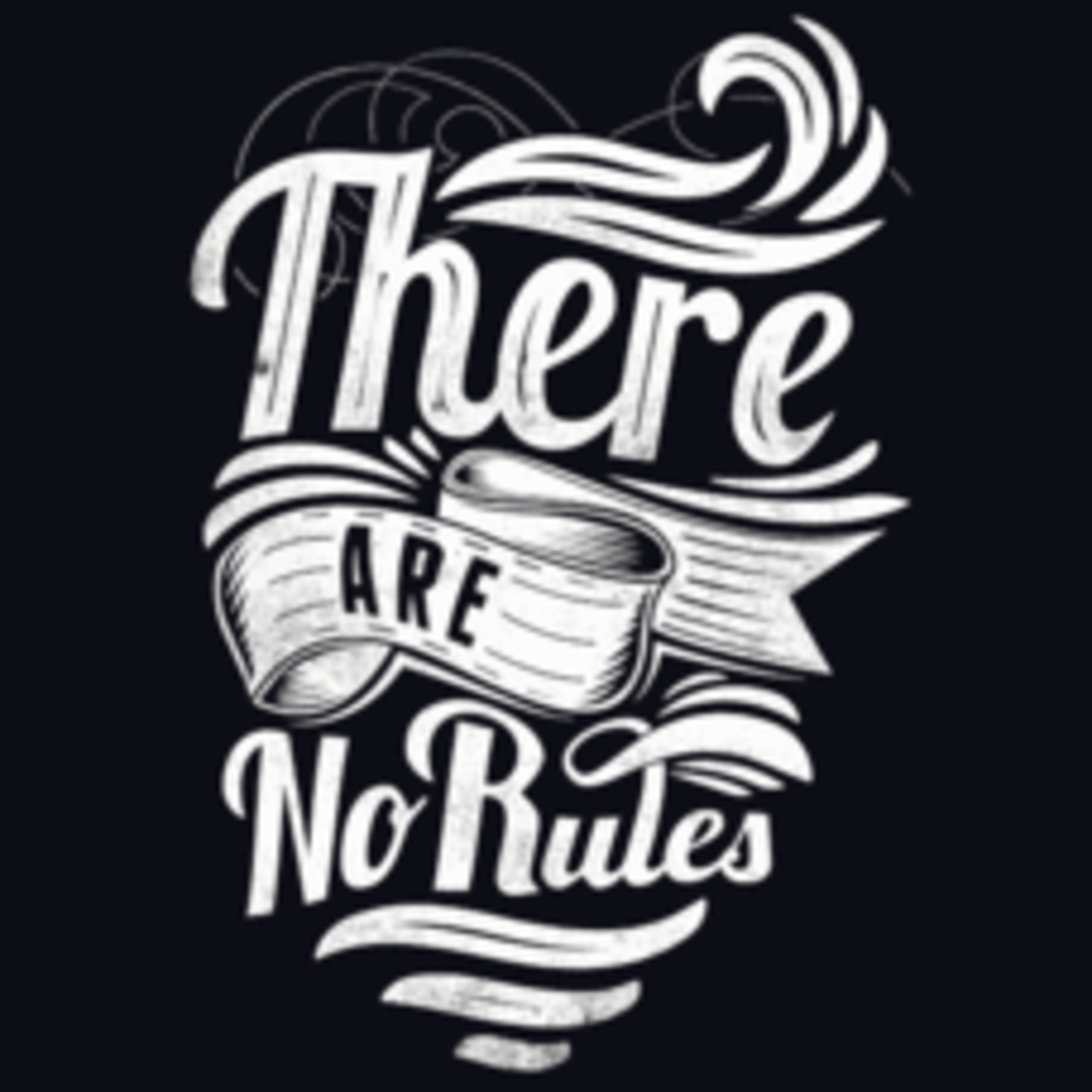 Textual Tees: There Are No Rules