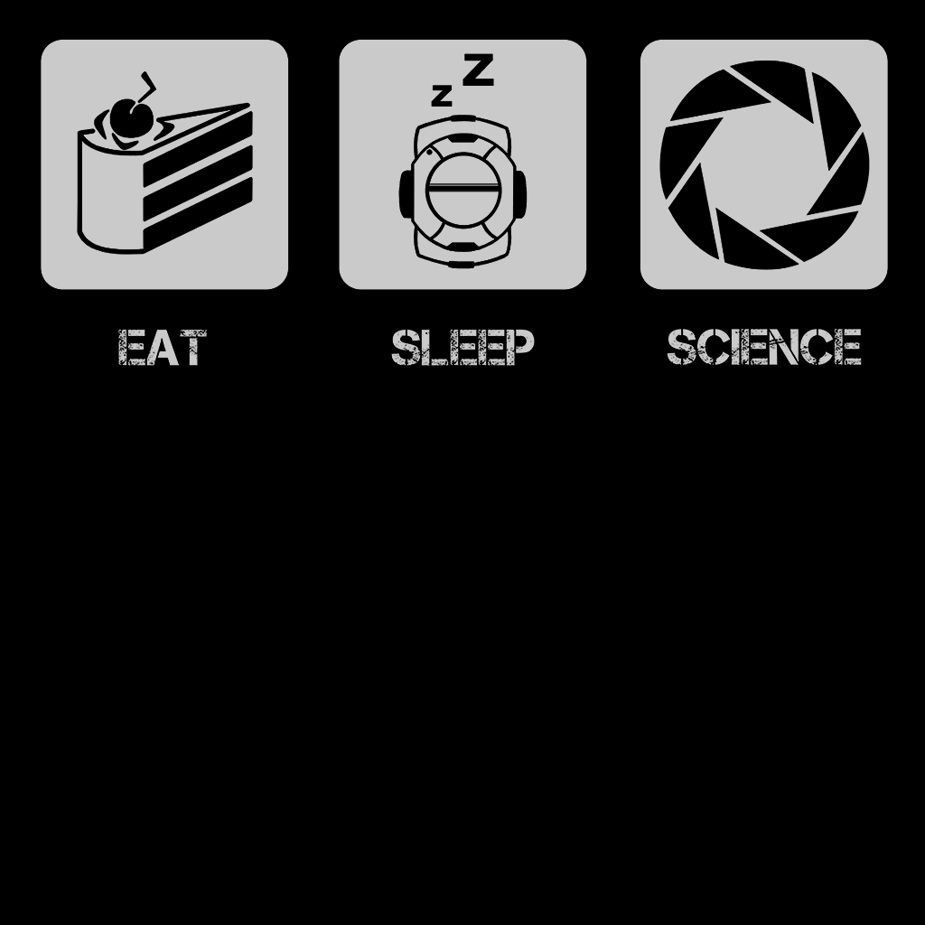 Pop-Up Tee: Eat Sleep Science