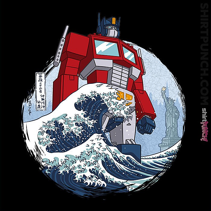 ShirtPunch: Wave Optimus