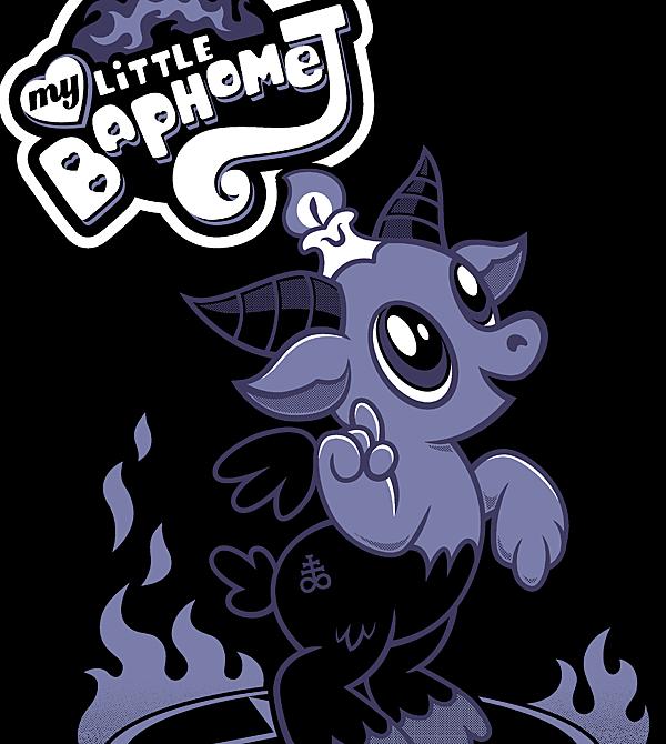 teeVillain: My Little Baphomet
