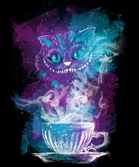 Qwertee: Cheshire's Tea