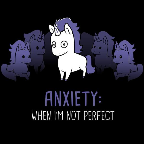 TeeTurtle: Anxiety: Perfection