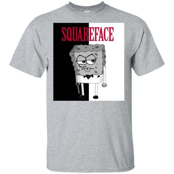 Pop-Up Tee: Squareface