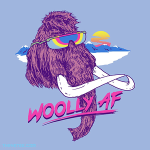 The Yetee: Woolly AF