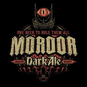 Once Upon a Tee: Mordor Dark Ale