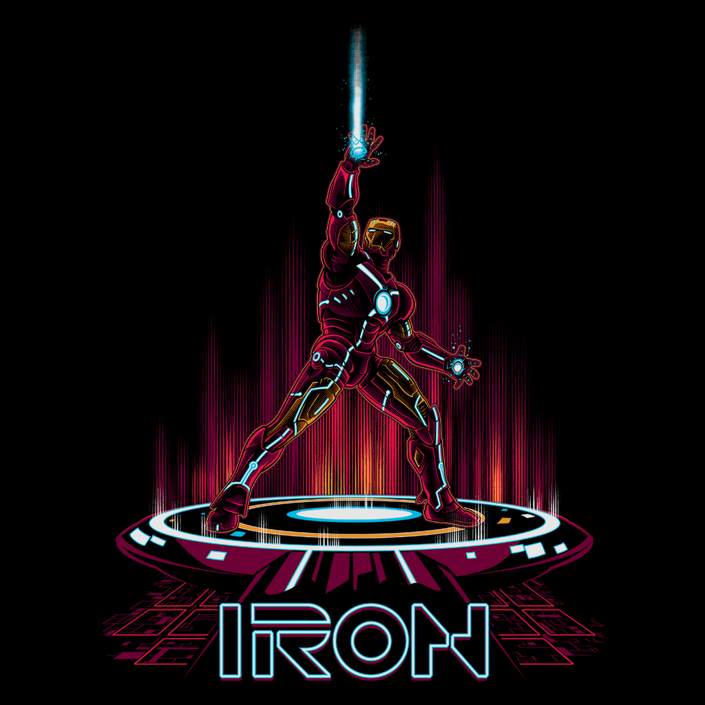 Pop-Up Tee: IronTron