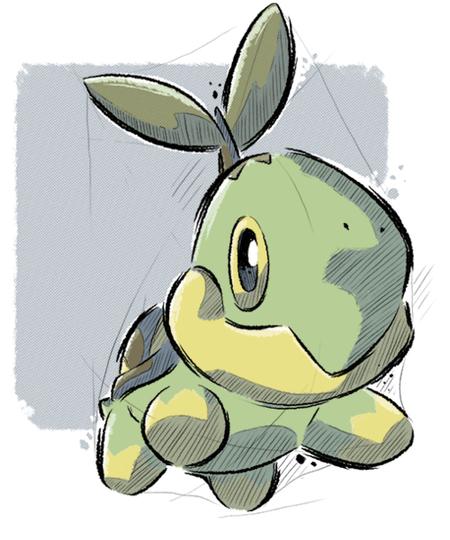 Qwertee: Grass Turtle