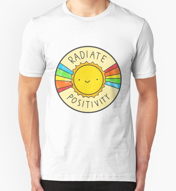 RedBubble: Radiate Positivity