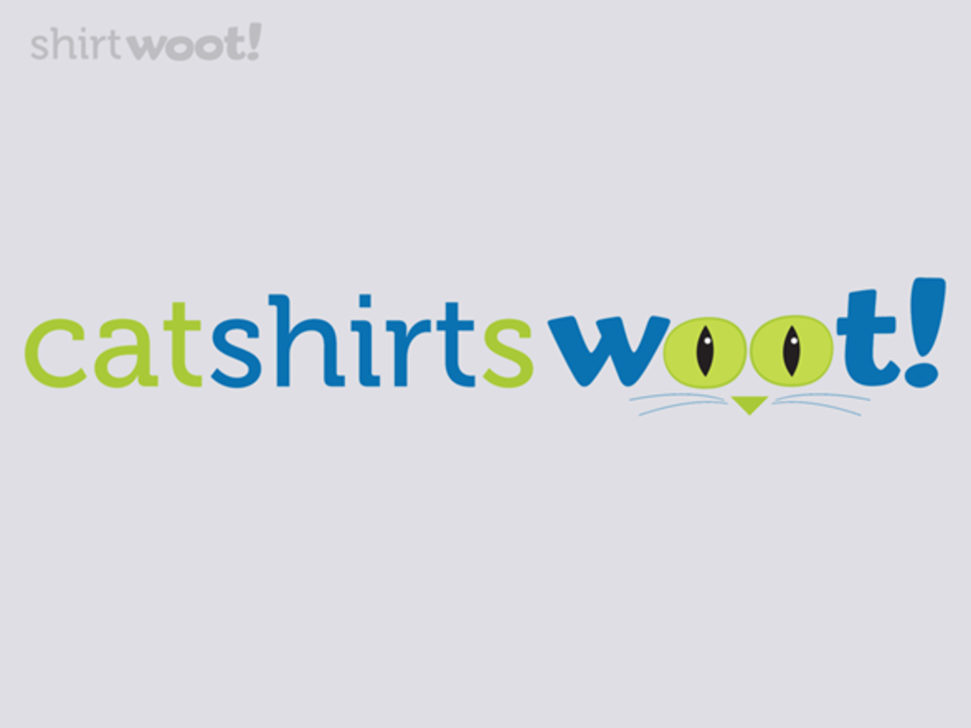 Woot!: CatShirt Fool's Day!