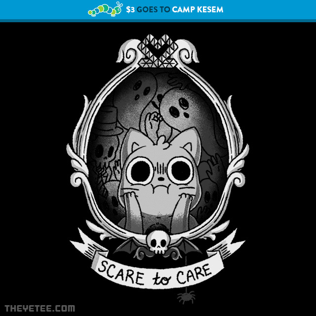 The Yetee: Scaredy Cat