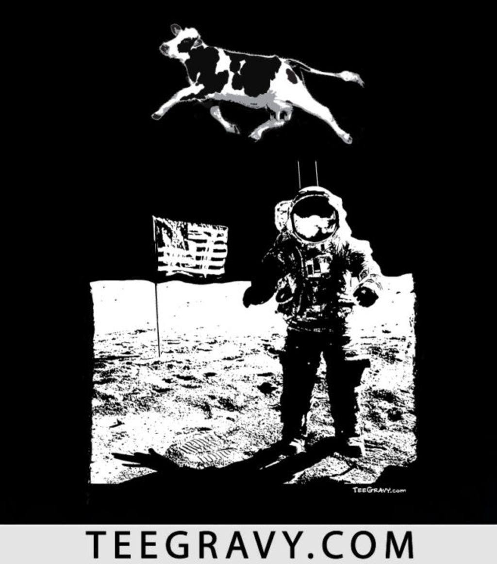 Tee Gravy: Space Cow