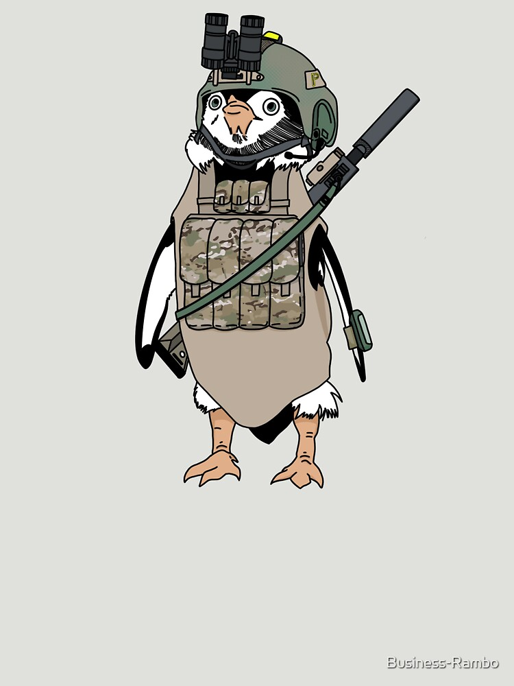 RedBubble: Tactical penguin