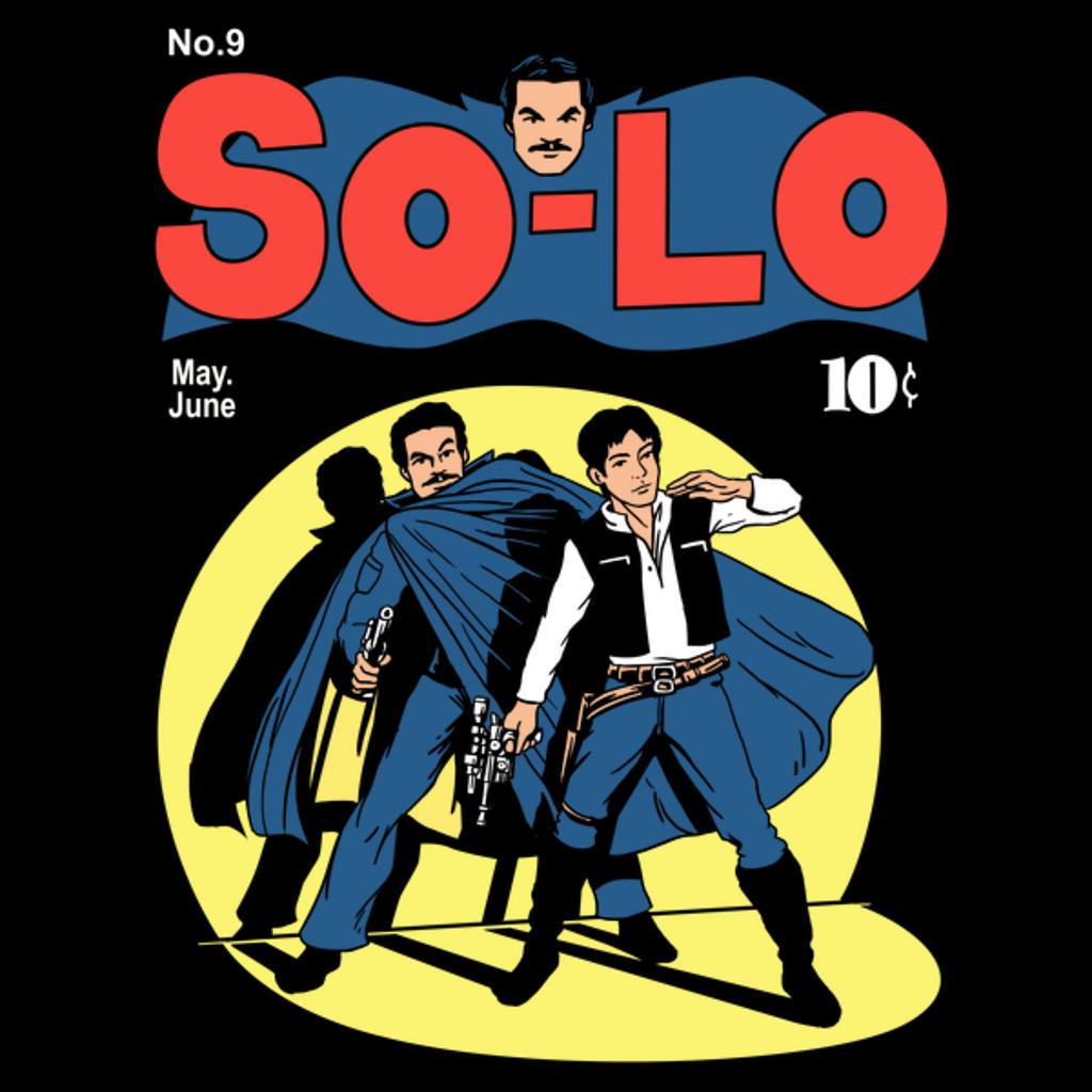 NeatoShop: So-Lo Comic Cover