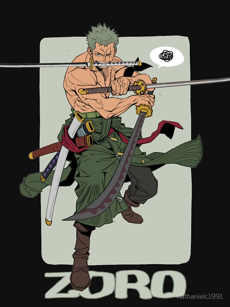 RedBubble: One Piece Zoro The Swordsman