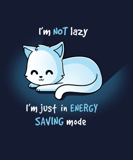 Qwertee: Energy Saving Mode