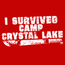 Textual Tees: I Survived Camp Crystal Lake