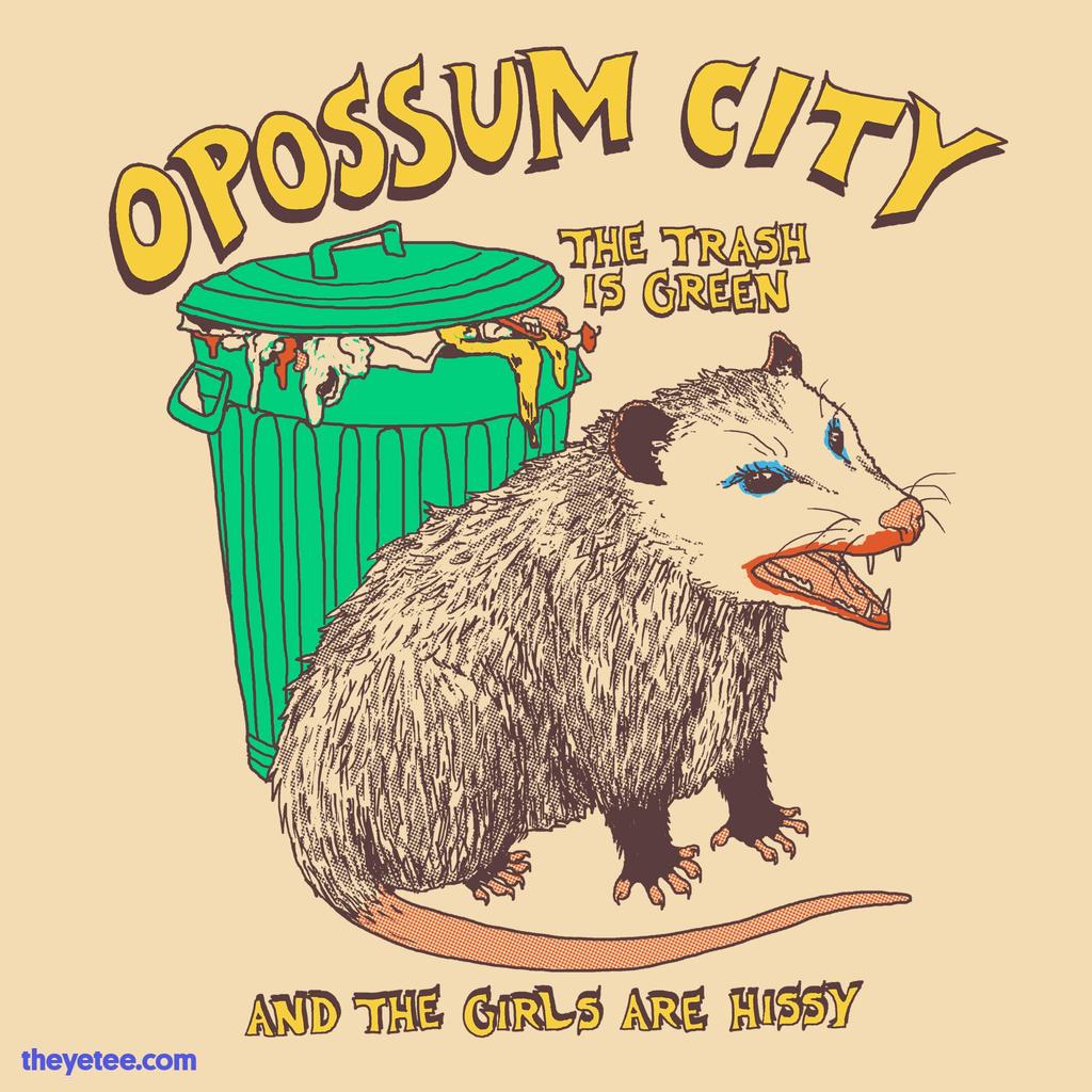 The Yetee: Opossum City