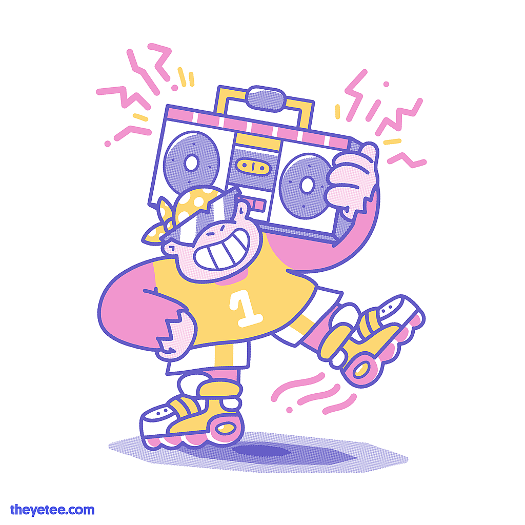 The Yetee: Get Funky