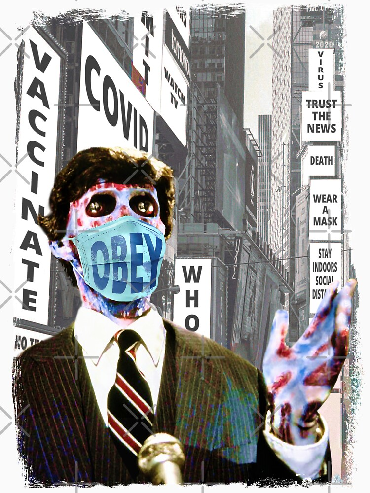 RedBubble: They Live, Obey The Rules, Wear Your Covid Face Mask