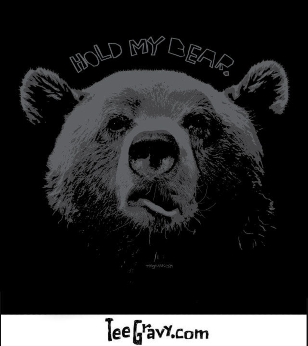 Tee Gravy: HOLD MY BEAR