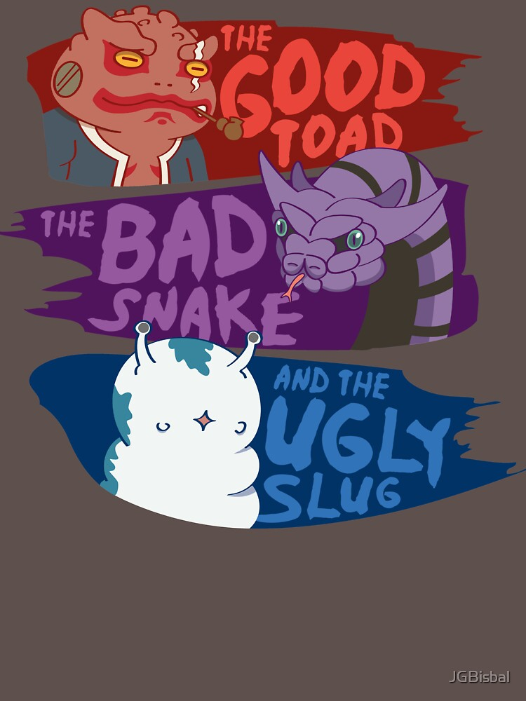 RedBubble: The good toad, the bad snake and the ugly slug