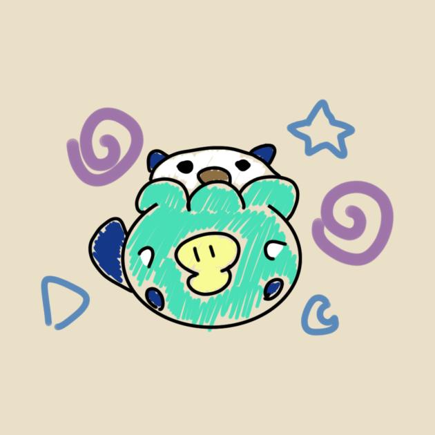 TeePublic: Chubby Otter