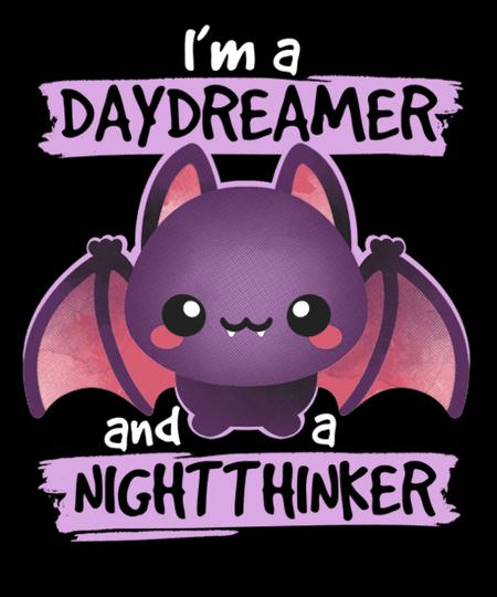 Qwertee: Daydreamer nightthinker bat