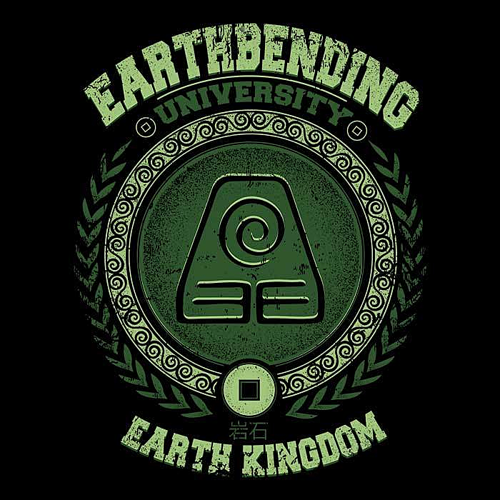 Once Upon a Tee: Earthbending University